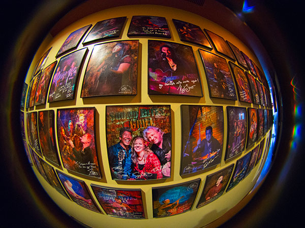 sound bites grill wall of fame photo