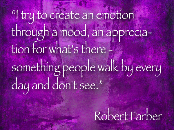 robert farber photography quote
