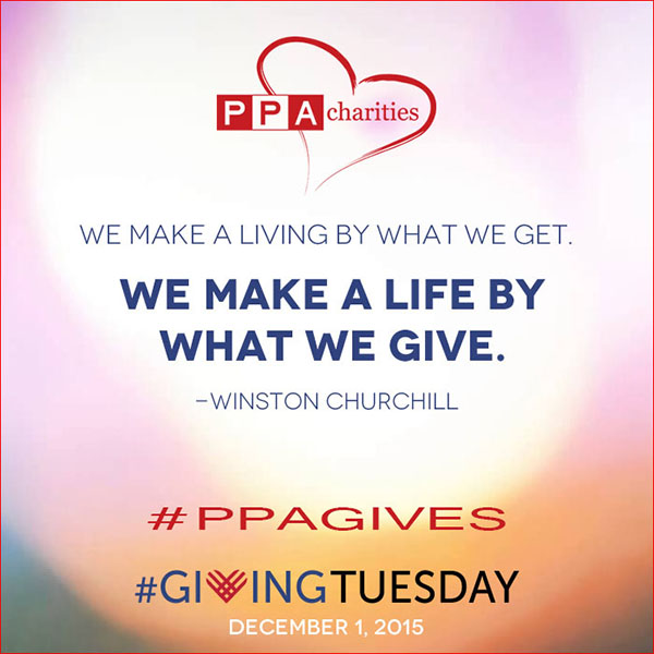 PPA charities quote