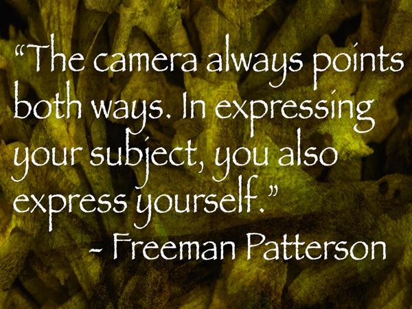 freeman patterson quote