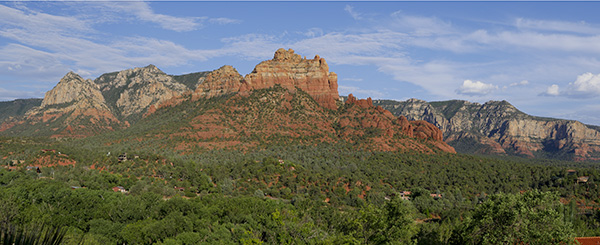 sedona panoramic image