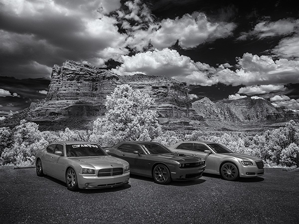 infrared car photo