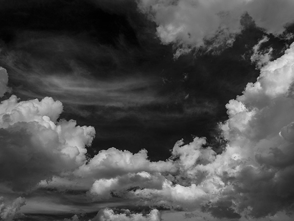 infrared cloud photo