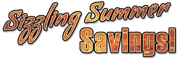 thiink tank summer savings banner
