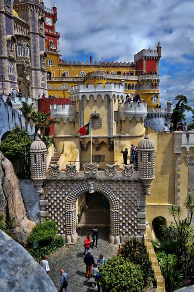 pena palace portugal photo
