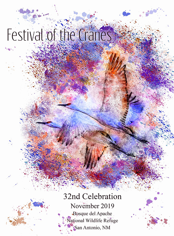 festival of the cranes art