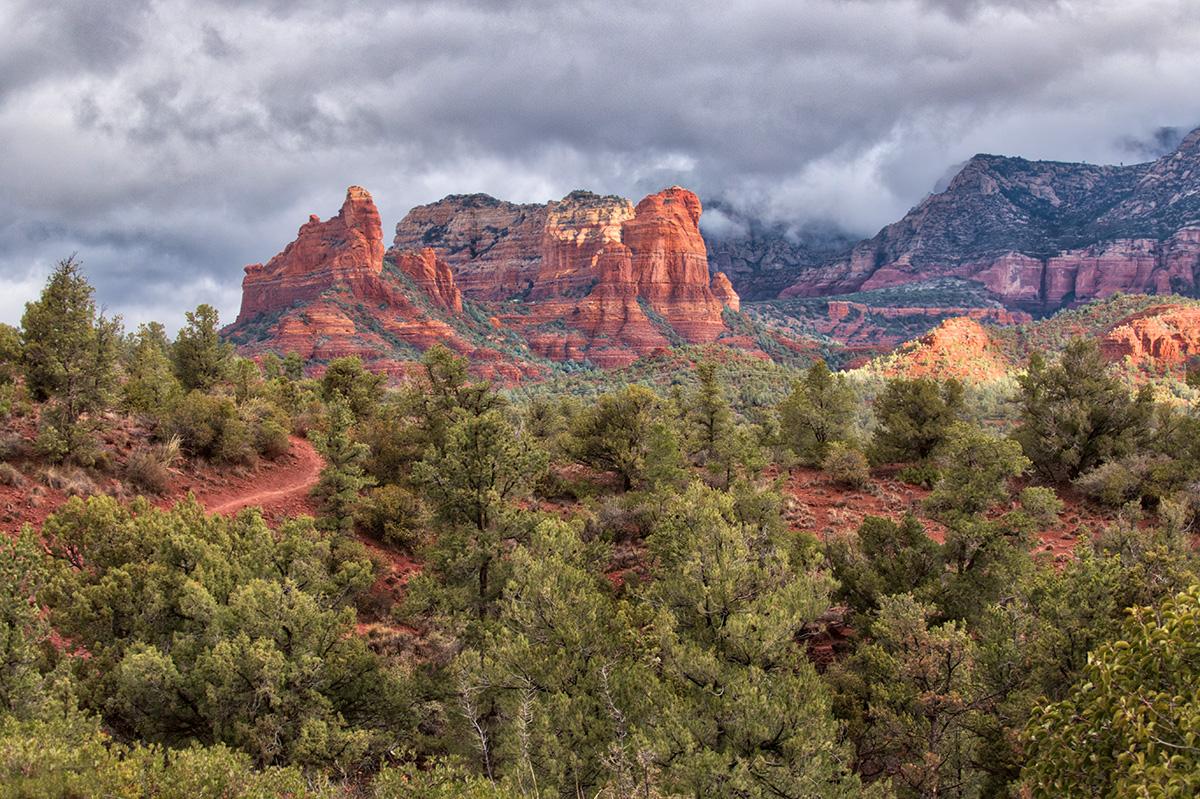 sedona landscape image