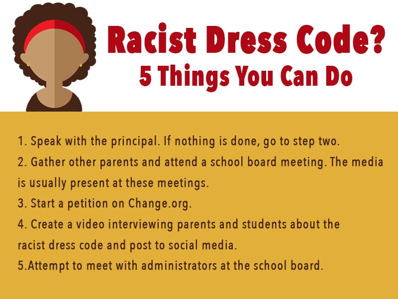 racist-dress-code