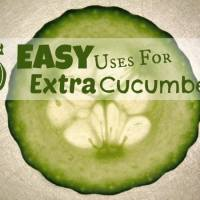 5 Easy Uses for Extra Cucumbers
