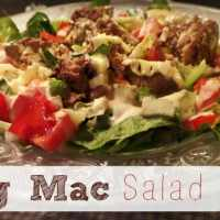 Big Mac Salad- Low Carb & THM friendly