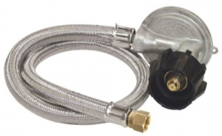 Best Bayou Classic M5LPH, 36inch Stainless Braided Low Pressure Hose
