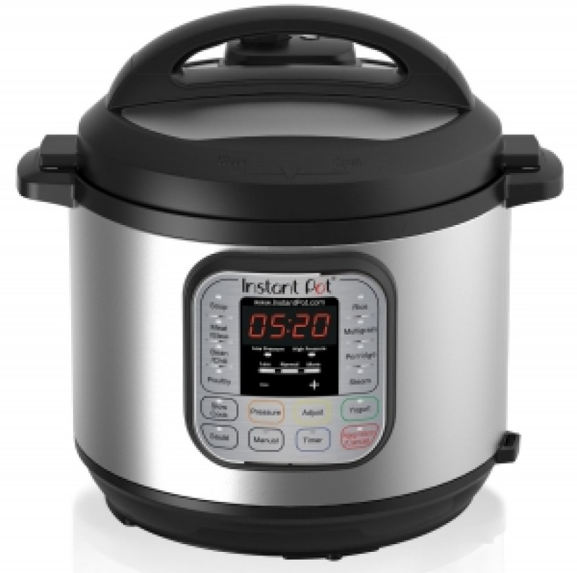 Instant Pot IP-DUO50 7-in-1 Programmable Pressure Cooker with Stainless Steel Cooking Pot and Exterior