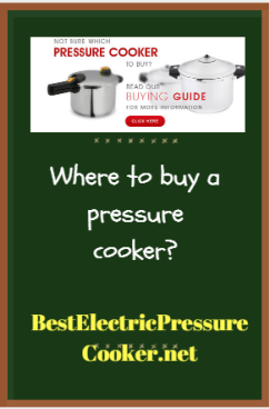 Where to buy a pressure cooker
