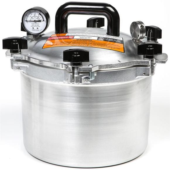 All-American 15-1/2-Quart Pressure Cooker