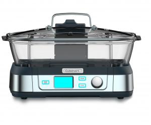 Cuisinart STM-1000 CookFresh Stainless Steel, Digital Glass Steamer