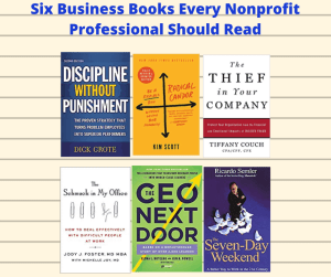 Six Business Books Every Nonprofit Professional Should Read