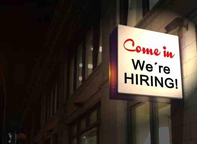 Come on in! The nonprofit jobs are fine! Recession