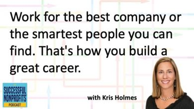 Landing Your Dream Job with Kris Holmes