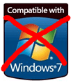 not compatible with Windows 7