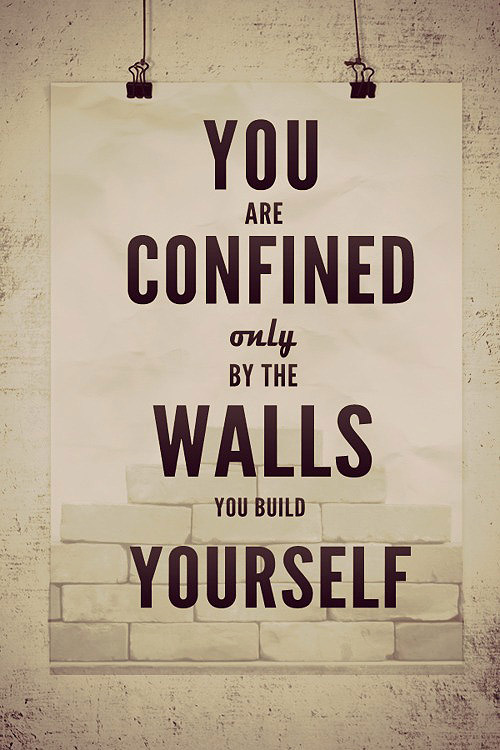 Confined by Your Walls
