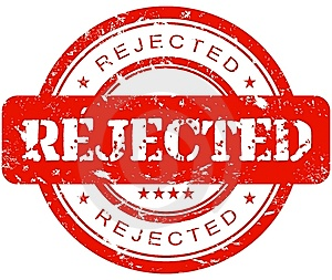 Image result for rejected