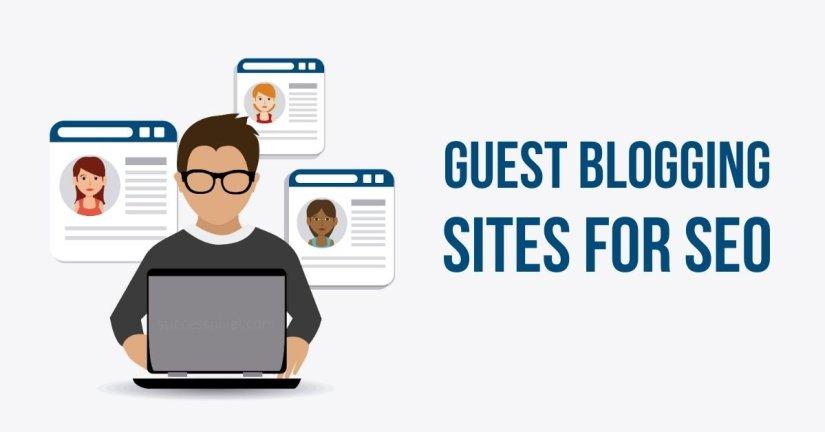 Best Guest Blogging Sites for SEO Backlinks, list of guest posting sites