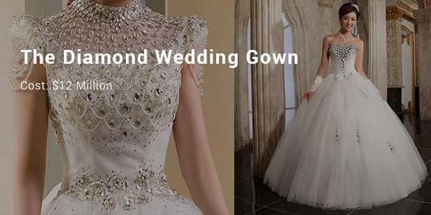 10 Most Expensive/ Priced Wedding Dresses