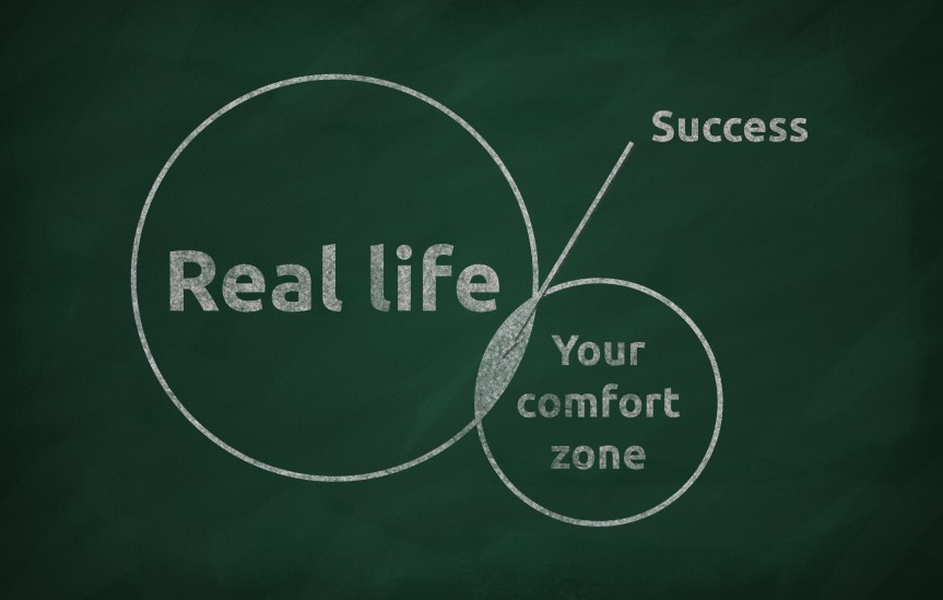 Success is With a Growth Mindset, Which May Be Out of Your Comfort Zone