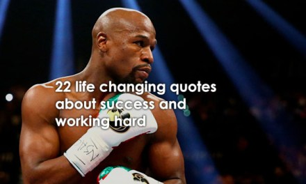 22 Life Changing Quotes About Success And Working Hard