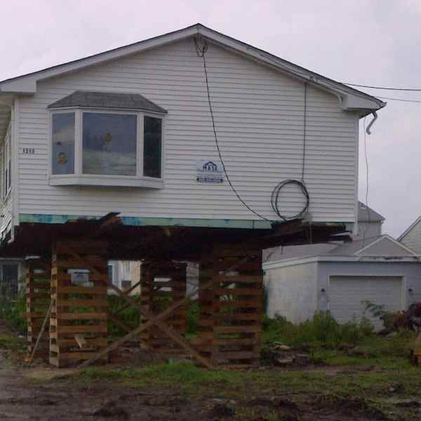 Elevating Home in Brigantine