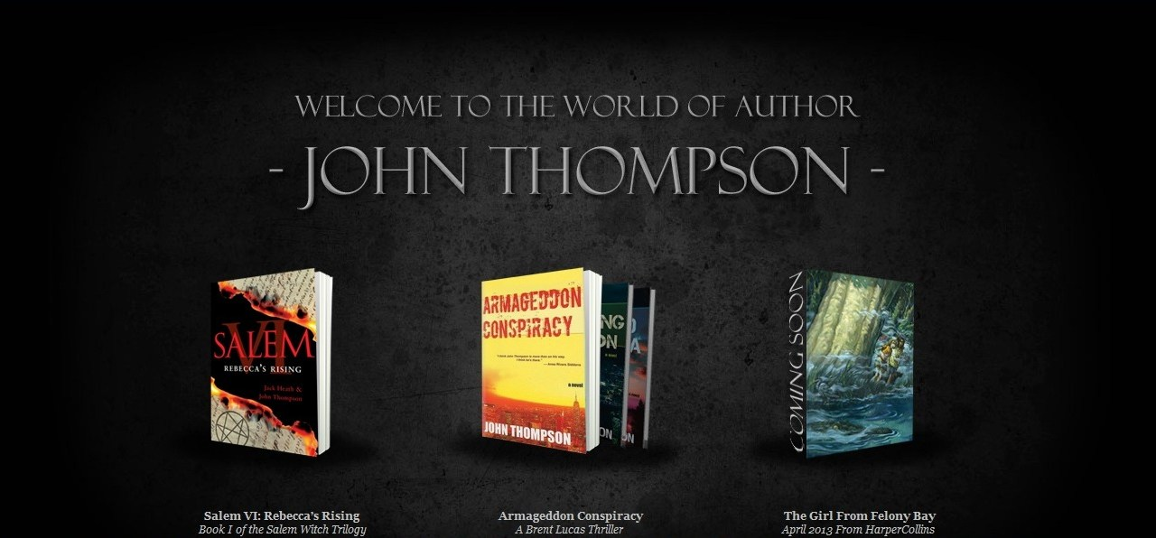 Interview with Salem VI: Rebecca's Rising co-author John Thompson