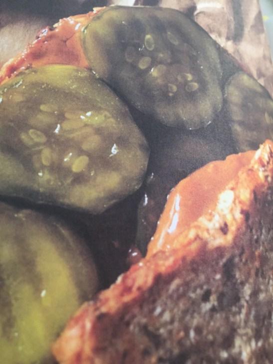 Peanutbutter & Pickle Sandwich--Photo: Brenda C. Hill