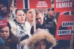 Protest pentru familia Bodnariu Suceava 4