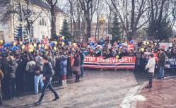 Protest pentru familia Bodnariu Suceava 8
