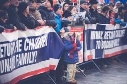 Protest pentru familia Bodnariu Suceava