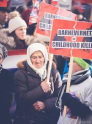 Protest pentru familia Bodnariu Suceava39