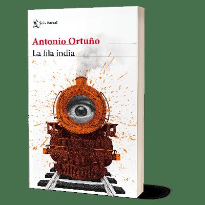 Portada del libro La Fila india de Antonio Ortuño