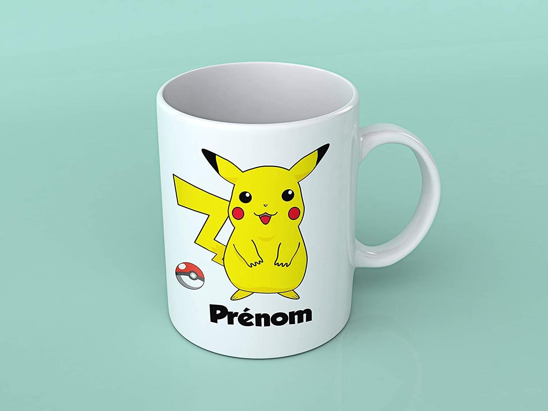 mug personnalise avec pikachu tasse pokemon originale