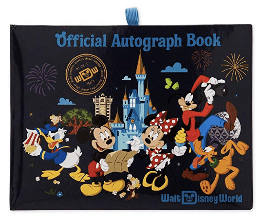Disney autograph book Amazon link.