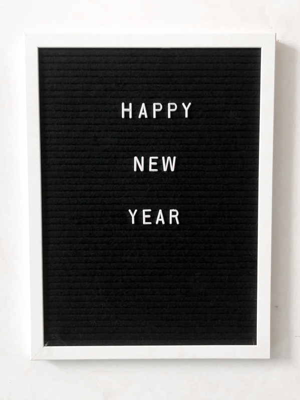 Happy New Year. 2020 New Year Letterboard quotes.