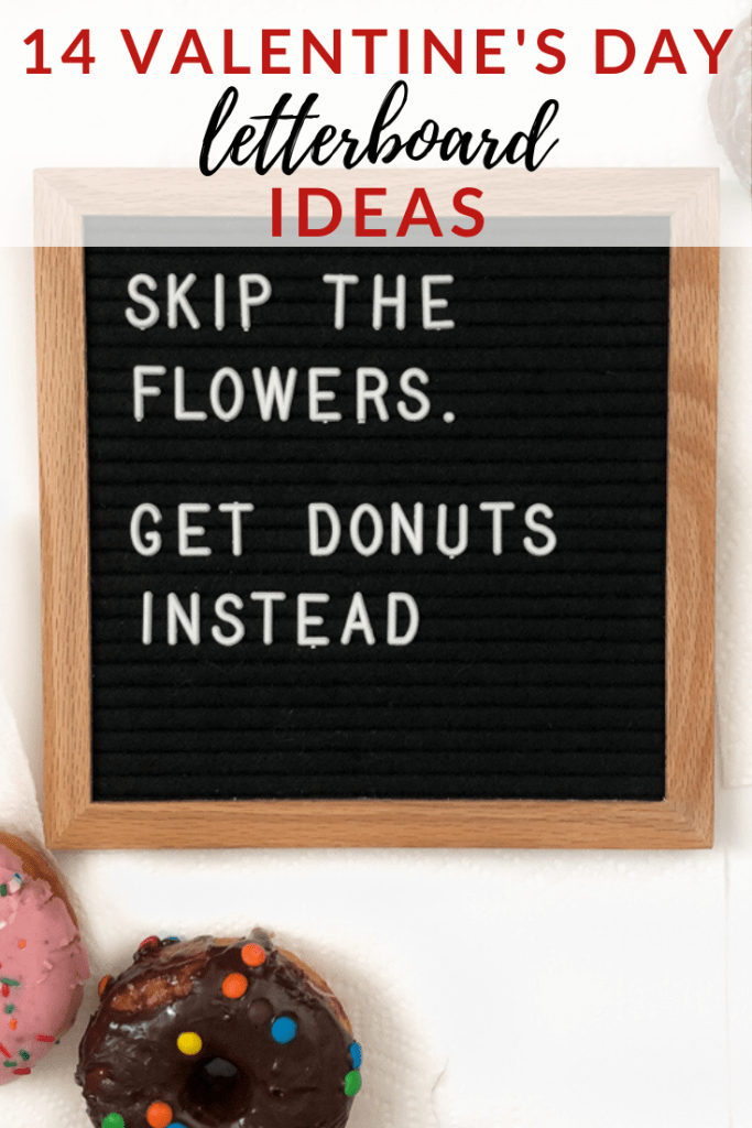 Valentine's Day Letterboard Ideas