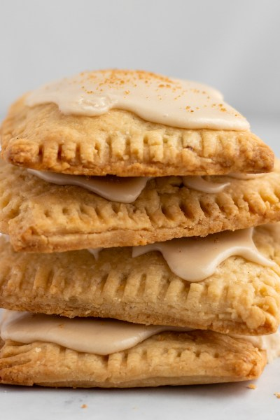 Stacked brown cinnamon sugar Pop-Tarts