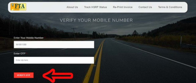 Step 8 UP High Security Number Plate Online Apply, Price, Last Date, Track Status