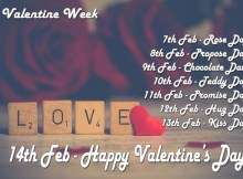 Valentine week full list date sheet download