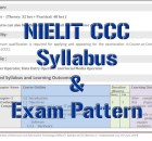 You can download NIELIT CCC Syllabus 2022 (ccc new syllabus). You can also check NIELIT CCC new exam pattern 2022. Check admit card, result.