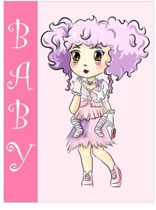 Kawaii Monster Baby por Sofis