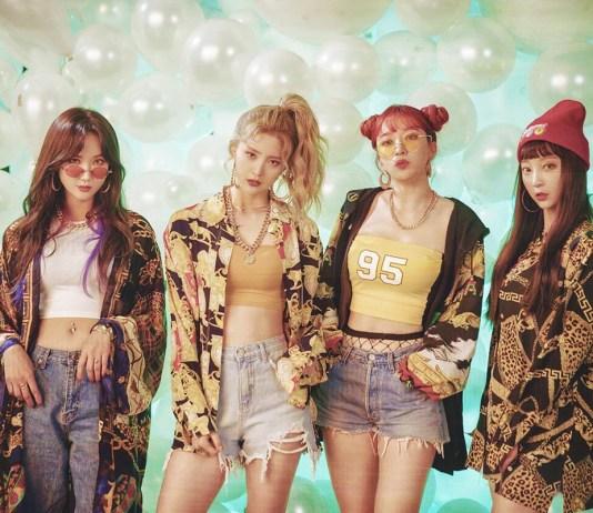LE, Junghwa, Hani e Hyerin