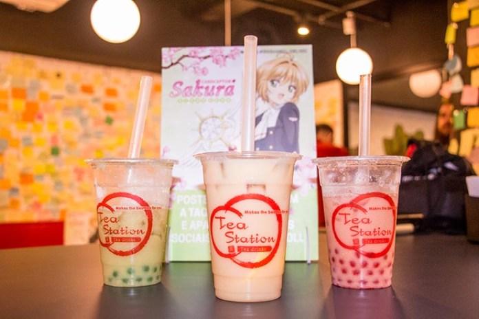 festa de aniversario sakura tea station chás