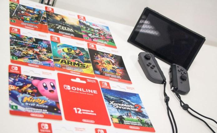 Cartões Nintendo