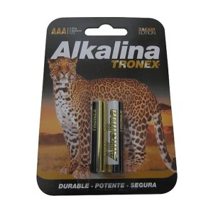 Pila Tronex AAA Alcalina 1.5V LR03